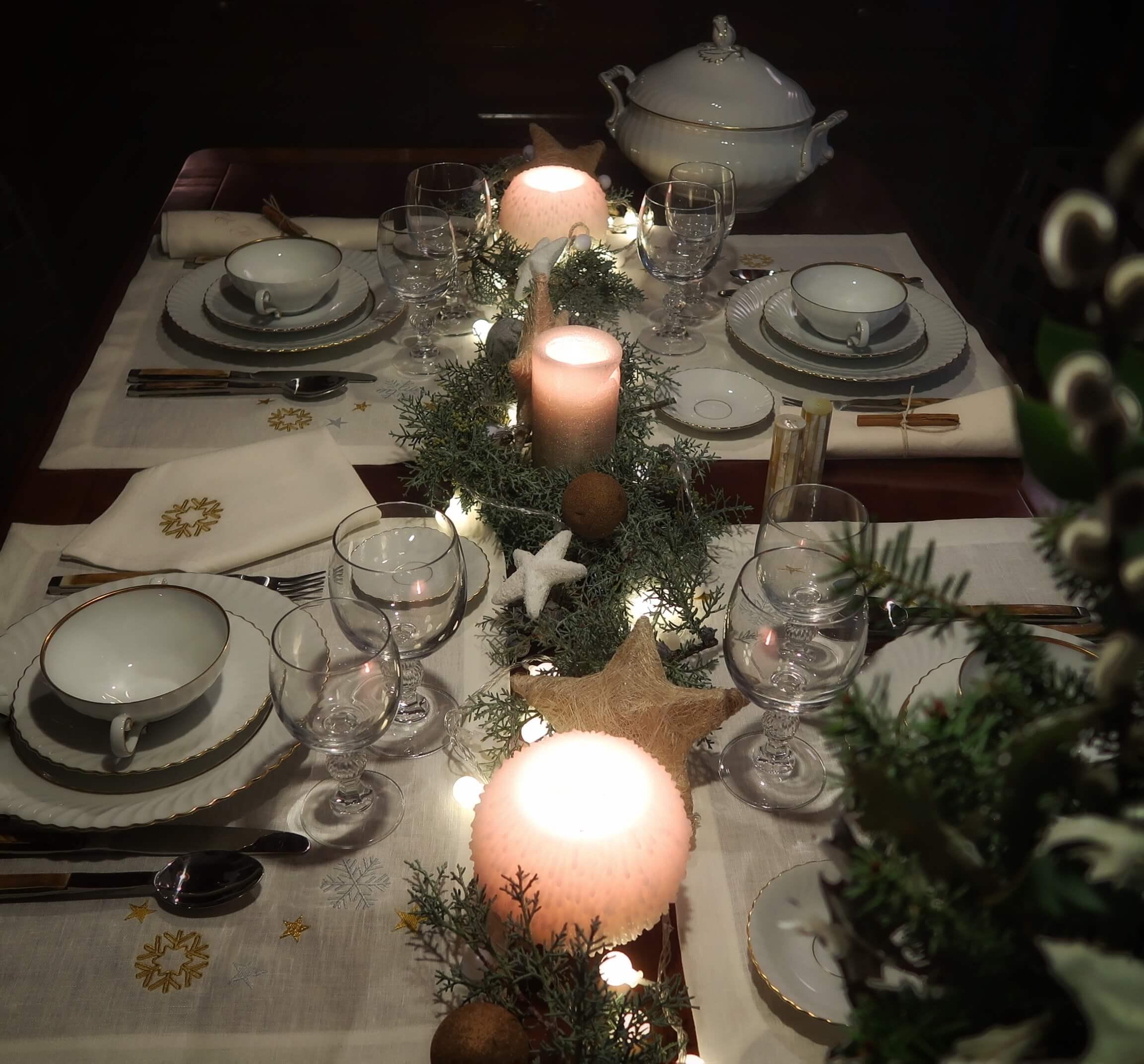 decoración mesas navidad unicas